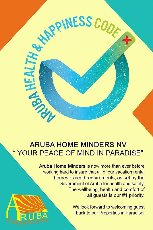 Aruba Health & Happiness Seal of Approval