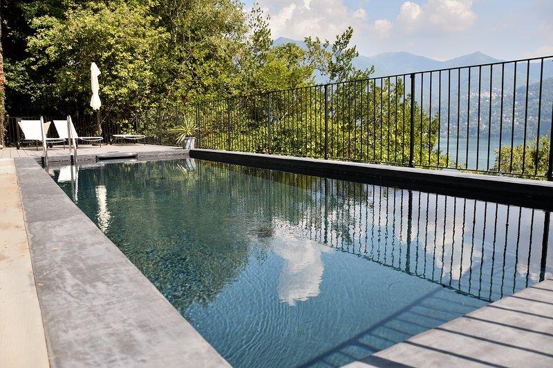 Luxury Villa with pool & terrace - Lake Como, alquiler vacacional en Carate Urio