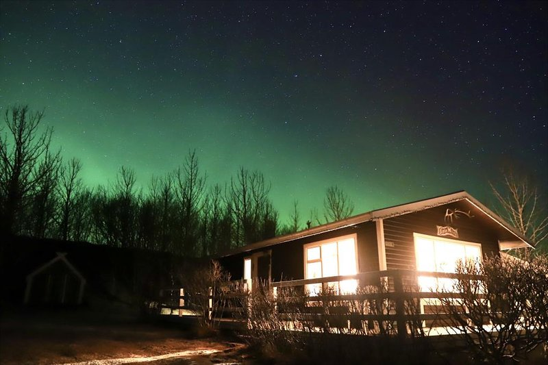 IG Eyja Mörk (Northenlight Cabin), holiday rental in Skogar