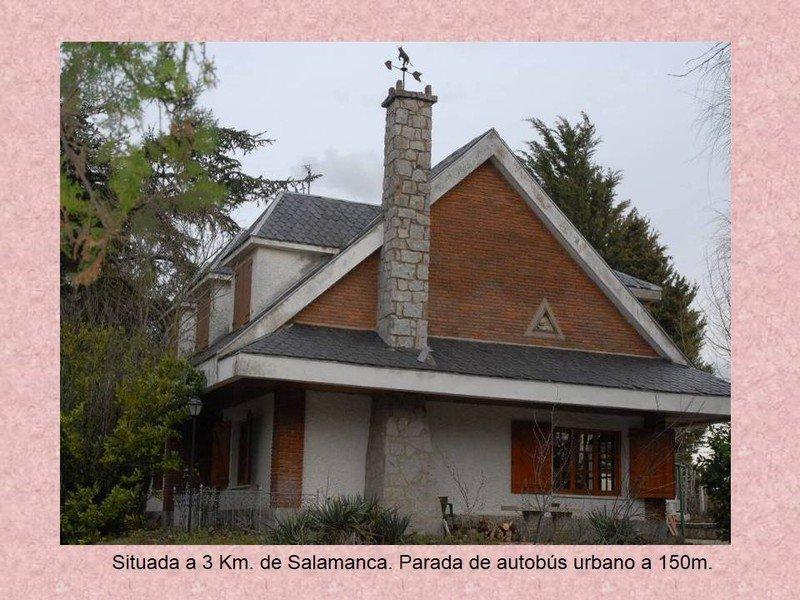 CHALET CON PISCINA Y BARBACOA, holiday rental in Encinas de Abajo