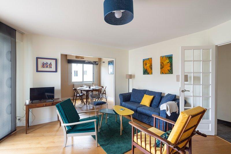 Le Singulier - 2 chambres et parking, aluguéis de temporada em Saint Herblain