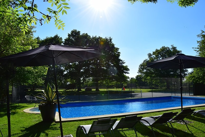 Amazing villa with swimming-pool, location de vacances à Lignières