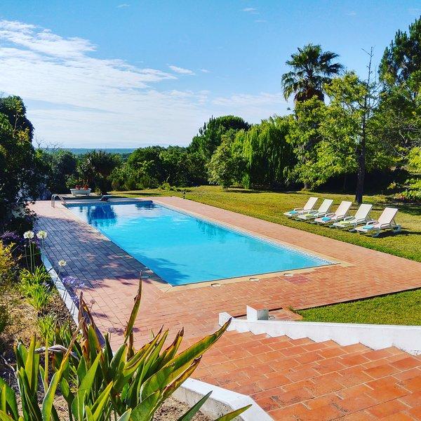 Melides - Sea view Villa with swimming pool, casa vacanza a Vila Nova de Santo Andre