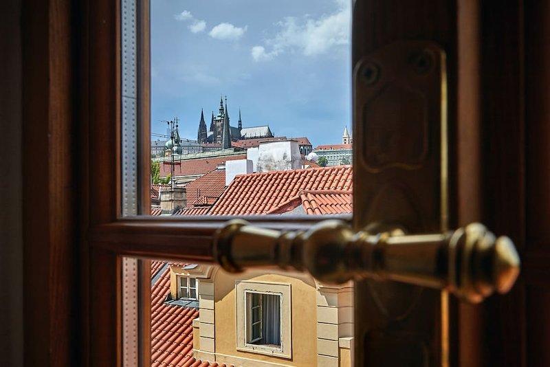 Enjoy the view...Prague castle