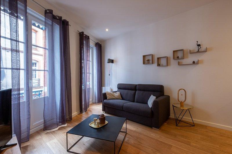 Halle aux grains - Studio de charme, holiday rental in Quint-Fonsegrives