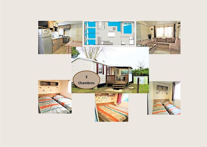 Mobil home 3 chambres à Saint-Jean-de-, vacation rental in Saint-Jean-de-Monts