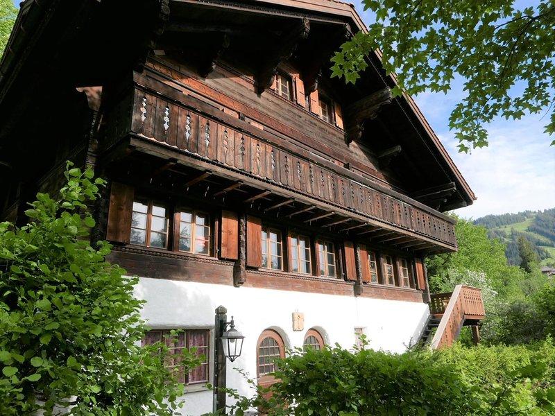 Tree-Tops, Chalet, aluguéis de temporada em Gstaad