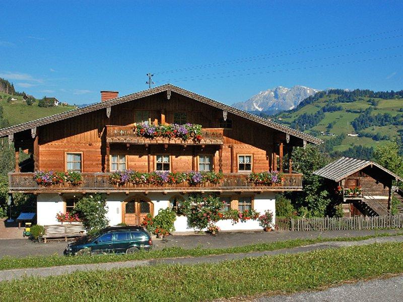Buernhof Hallmoos (WAR104), vacation rental in Wagrain