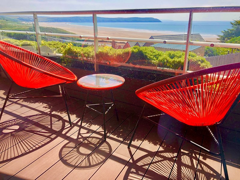 9 Oceanpoint: Luxury rental,4 minutes bed to beach, Ferienwohnung in Woolacombe