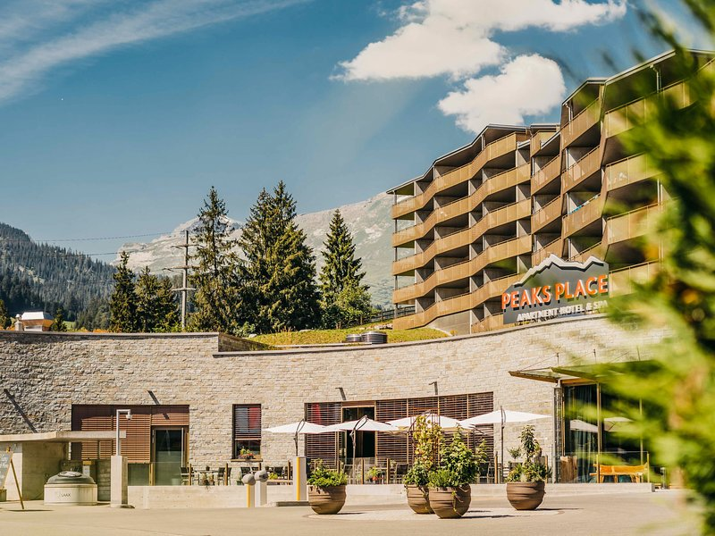 Peaks Place Apartment-Hotel & Spa, location de vacances à Laax