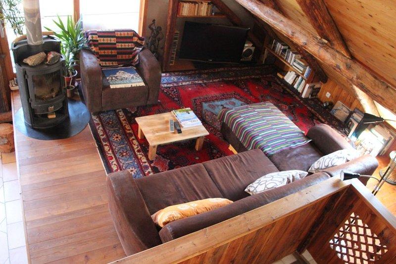 Big property with terrace & balcony, location de vacances à Le Monetier-les-Bains