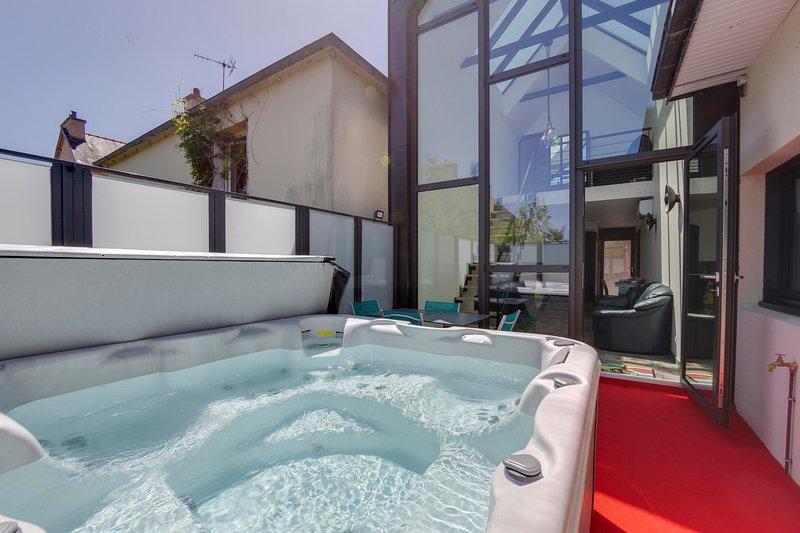 L'Albatros - Maison neuve avec jacuzzi Landerneau, location de vacances à Landivisiau