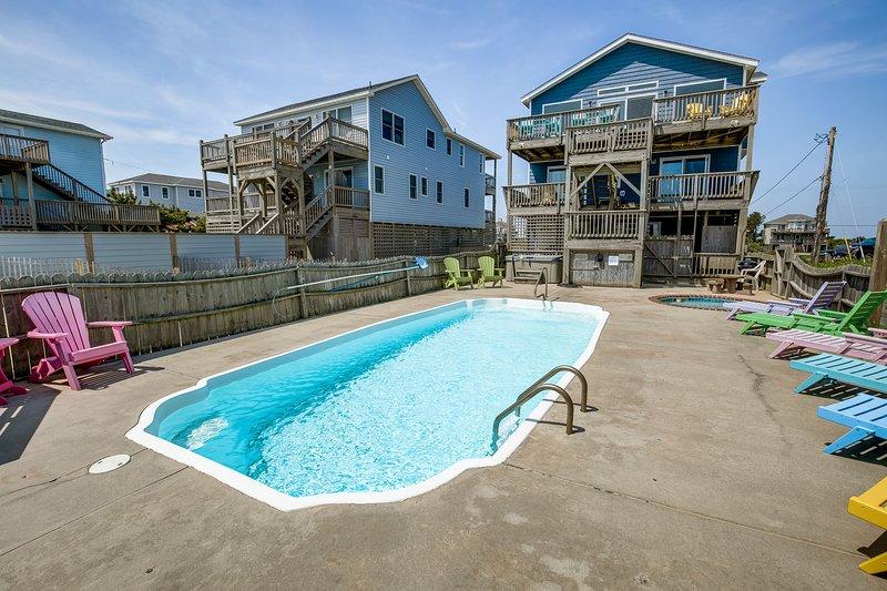 Keg's | Oceanfront | Private Pool, Hot Tub | Nags Head, location de vacances à Nags Head