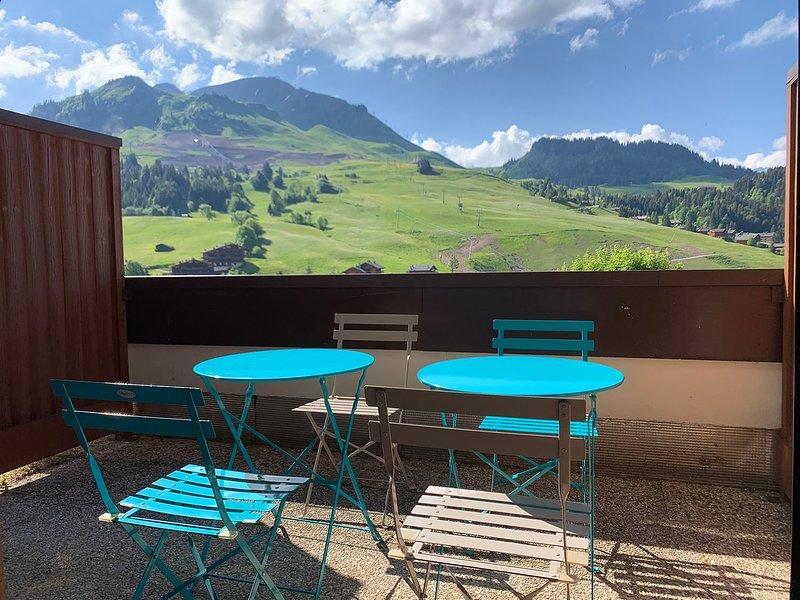 Le Kodiac : Studio 4 personnes + coin montagne - Chinaillon/Grand Bornand, location de vacances à Le Petit-Bornand-les-Glières
