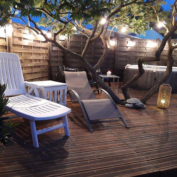Maison de famille avec piscine et jacuzzi, vacation rental in Pleguien
