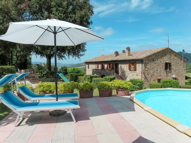 Podere Cafaggiolo (VOL221), vakantiewoning in Ulignano