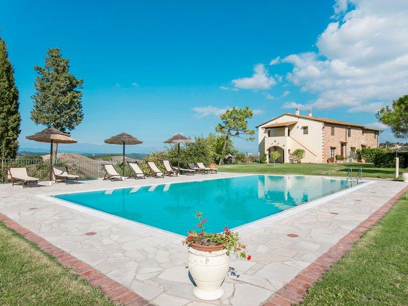 Podere Sant'Anna, location de vacances à Castelfalfi