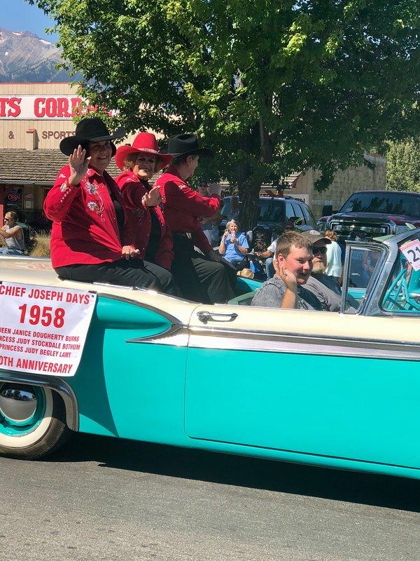 Chief Joseph Day's parade