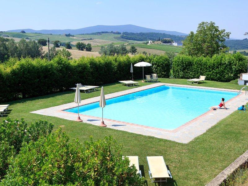 Cignanrosso - Loggia (CTC261), holiday rental in Quercegrossa