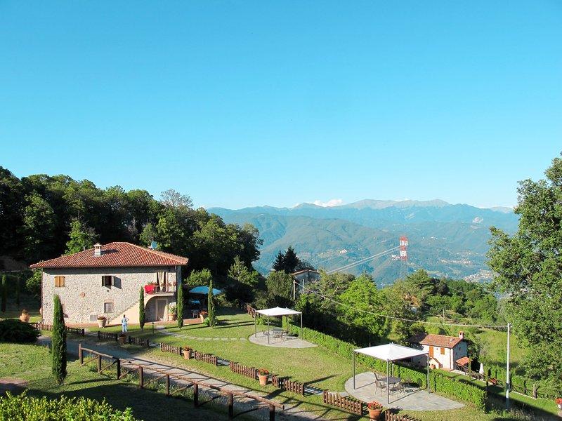 Limone + Rosmarino + Gelsomino, holiday rental in Vergemoli