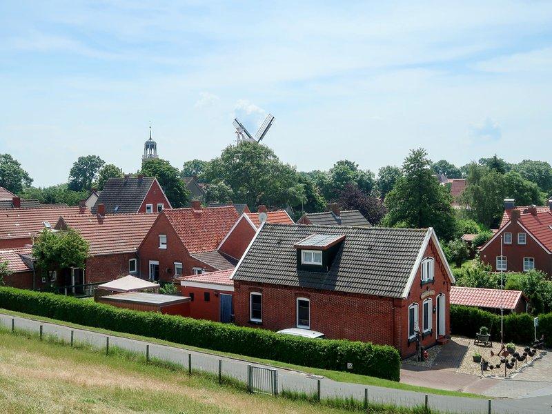 Huuske an Diek, location de vacances à Emden