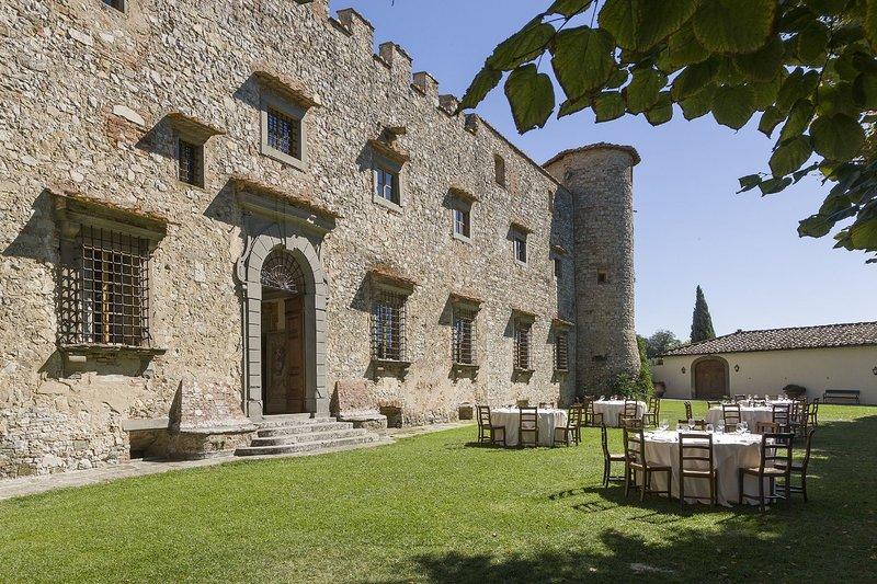 Castello Di Meleto, holiday rental in Gaiole in Chianti