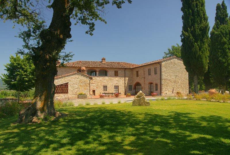 Villa Casanuova, holiday rental in Gaiole in Chianti