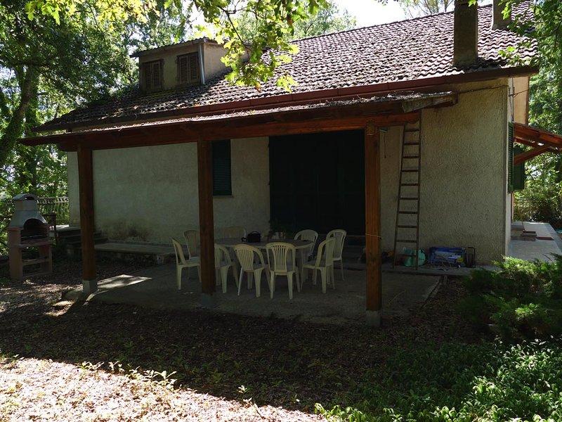 La villa nel Bosco, location de vacances à Papigno