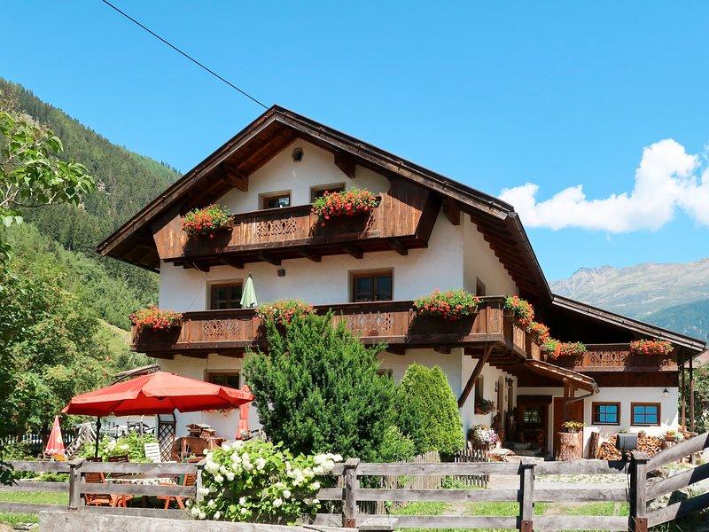 Haflingerhof Almrose (KNT102), vacation rental in St. Leonhard im Pitztal