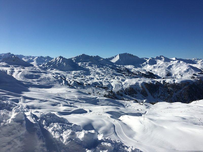 Appartement*** vue Mont Blanc 5/9 personnes Les Coches La Plagne, vacation rental in Les Coches