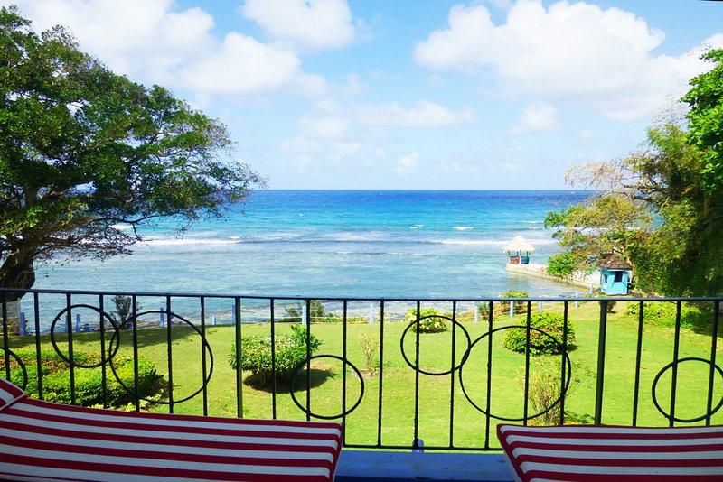 Balcony view of Caribbean Sea