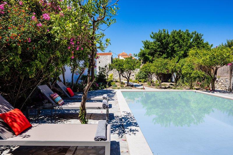 Muazzo Historic Residence, a modernized gem, holiday rental in Pigi