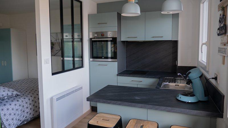 Grand studio meublé neuf, casa vacanza a Mont-de-Marsan