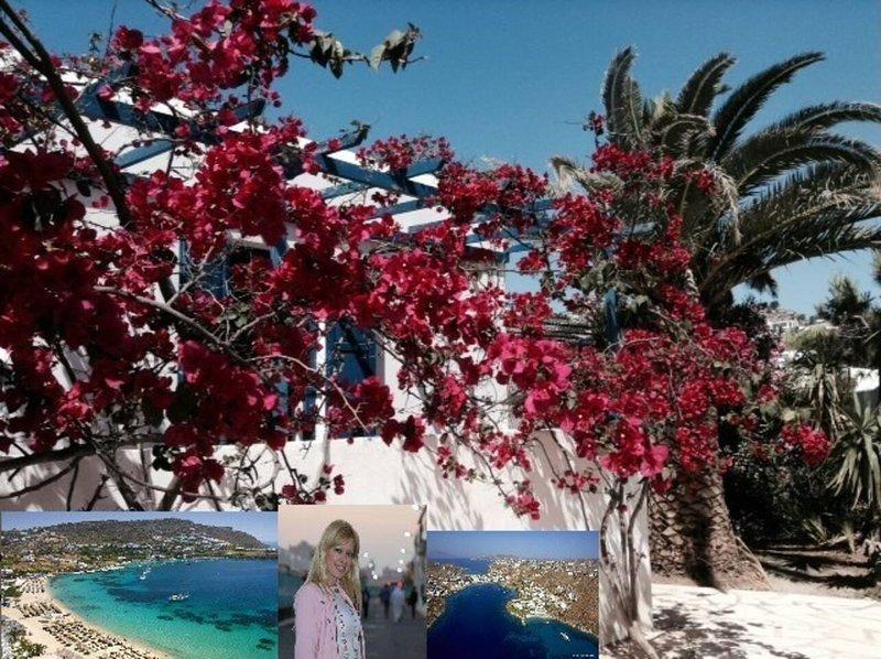 MAGICAL ORNOS! BEACH HOUSE-Beach 1' walk-Mykonos town 2km!, aluguéis de temporada em Ornos