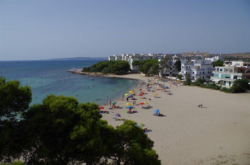 Grande casa con giardino sulla spiaggia libera con distanza sociale COVID19-free, vacation rental in Rivabella