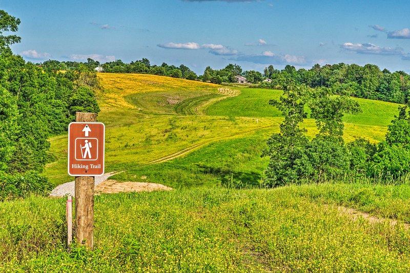 Hiking trails await!