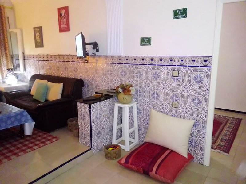 Beautiful house with garden & Wifi, holiday rental in Tangier