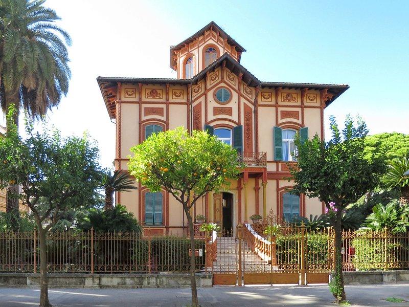 Villa Canepa (CVI100), Ferienwohnung in Chiavari