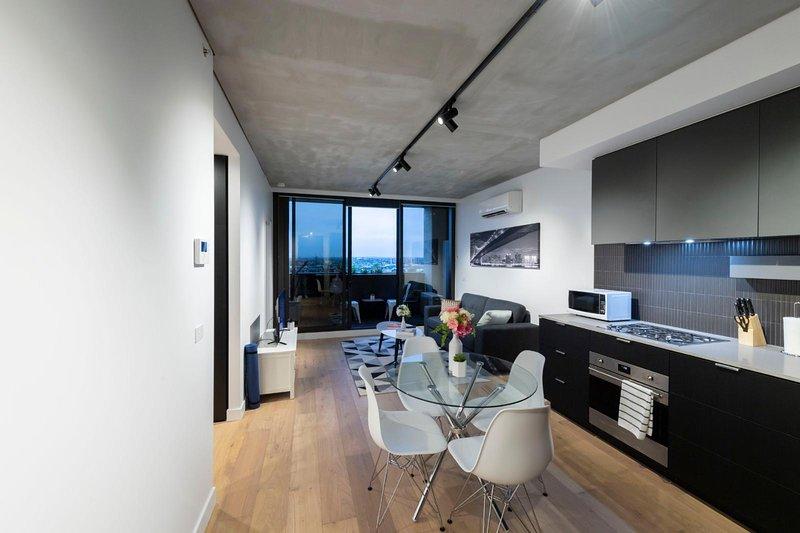 Melbourne - Docklands - Docklands Drive 1BR|1BA, alquiler vacacional en Seddon