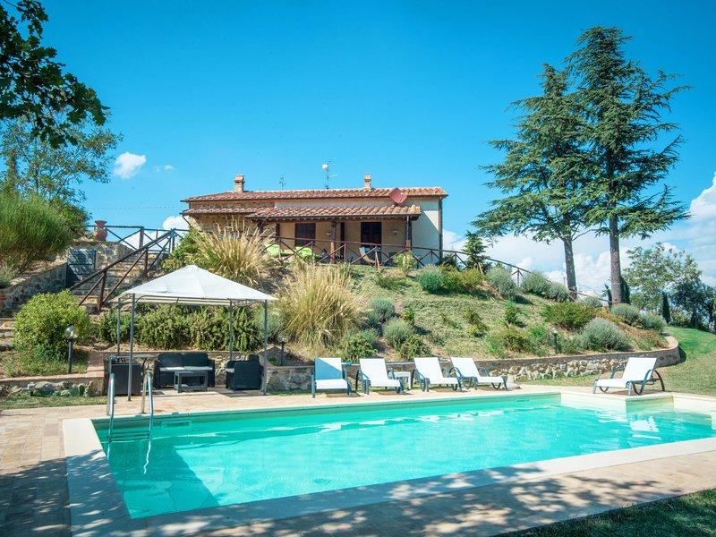 Villa al Sole (MTL190), casa vacanza a Montenero d'Orcia