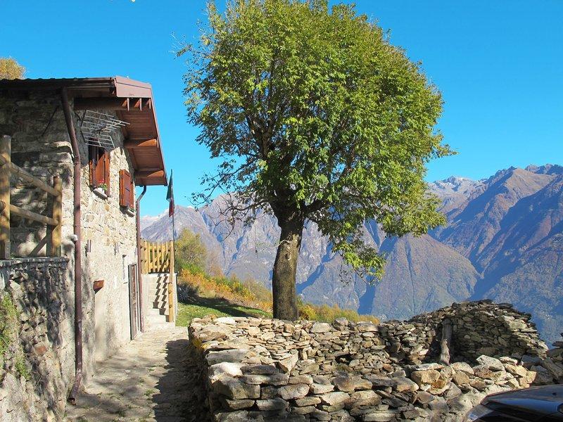 La tana del lupo (GLA415), vacation rental in Dascio
