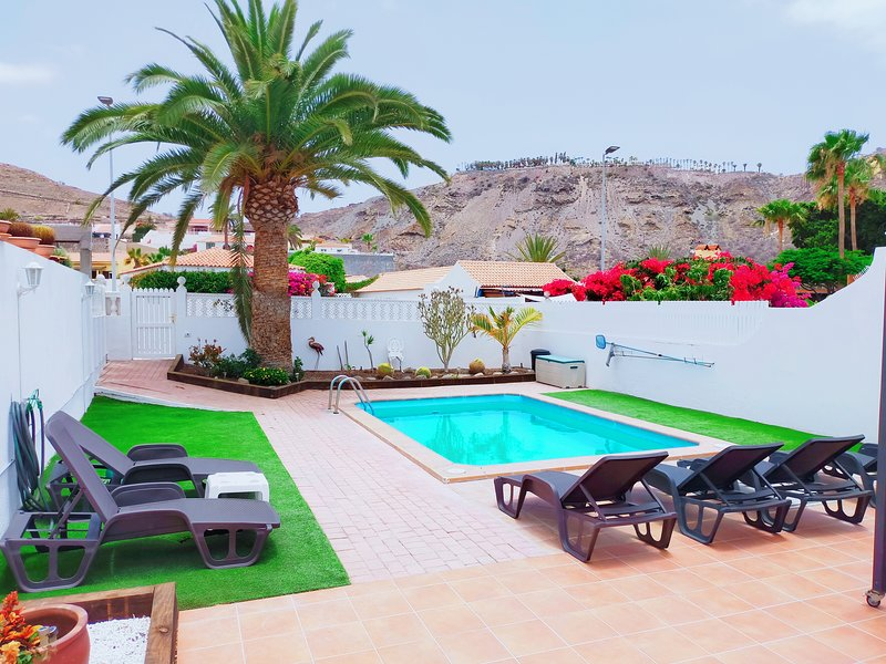 Beautiful villa with swimming-pool, holiday rental in Platero