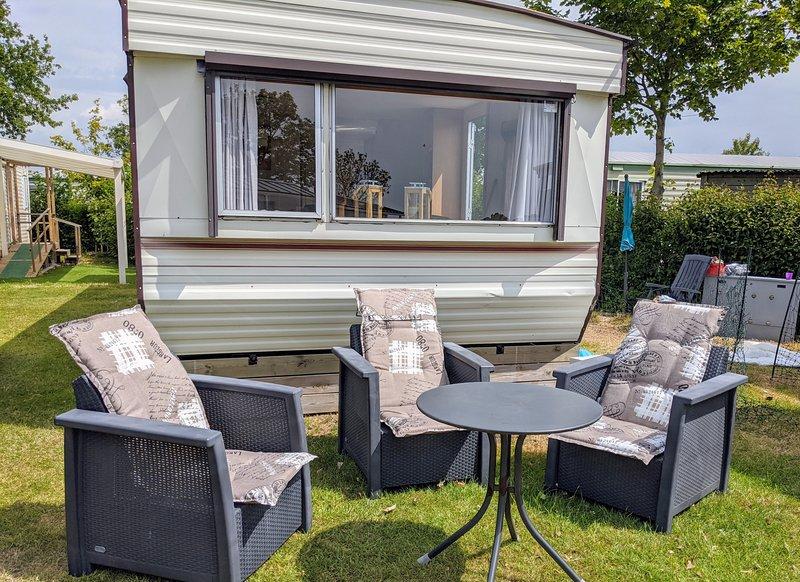 PK 140 - Camping en villapark de Paardekreek, alquiler vacacional en Wolphaartsdijk