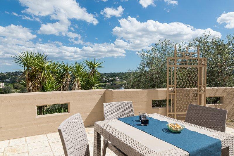Relax e belvedere alla Selva di Fasano - Family Apartment con Terrazza, holiday rental in Cocolicchio