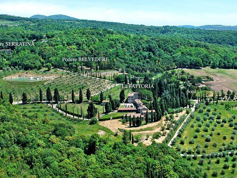 Tenuta di Peruzzo (ROC150), vacation rental in Ribolla