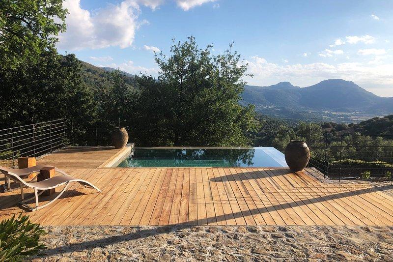 Villa U Laziu, location de vacances à Pigna