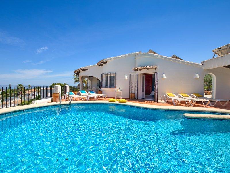 Villa Hermosa Vista, holiday rental in Sagra