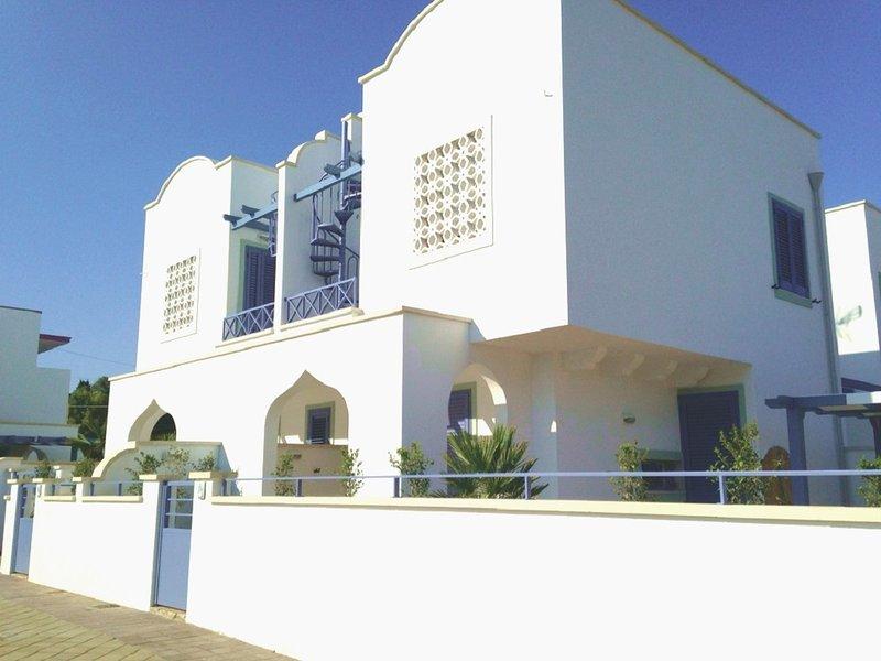 Acqua Marina Casa Vacanza elegante villino a Torre Lapillo Porto Cesareo, casa vacanza a Villaggio Boncore