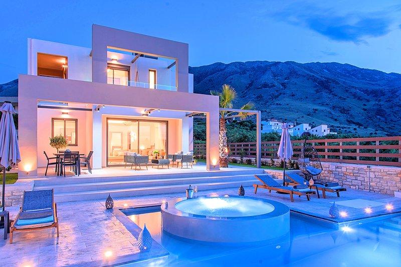 Minoas Grand Villas 3 Heated Pools, aluguéis de temporada em Georgioupolis