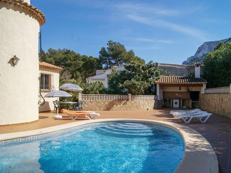Efaistos (DEN411), vacation rental in Muntanya la Sella